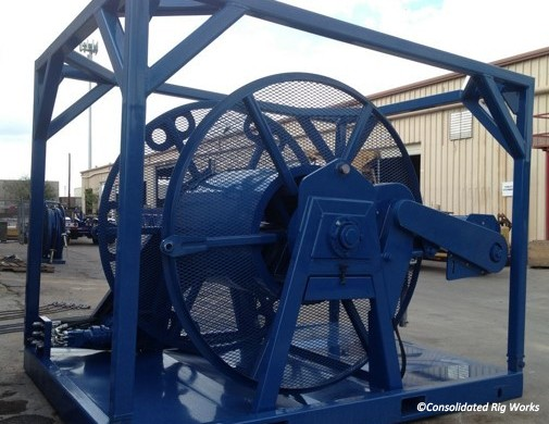 Tubing Reels Consolidated Rig Works Lp