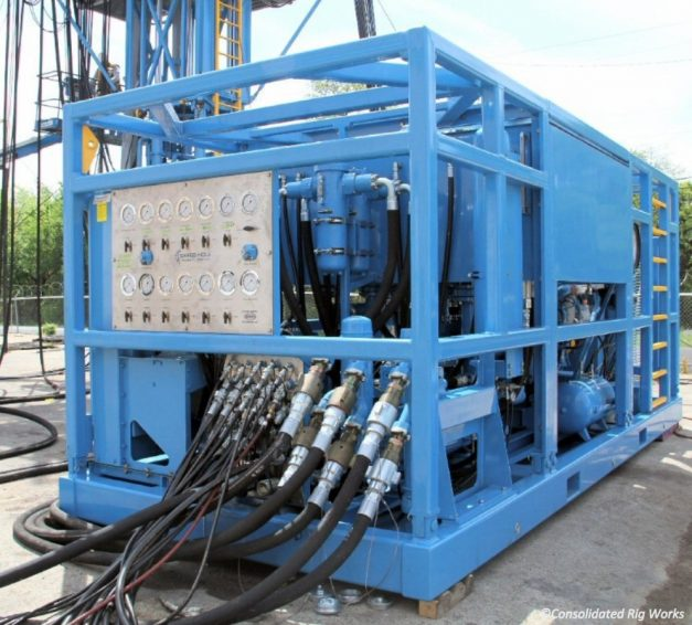 Power Packs Consolidated Rig Works Lp